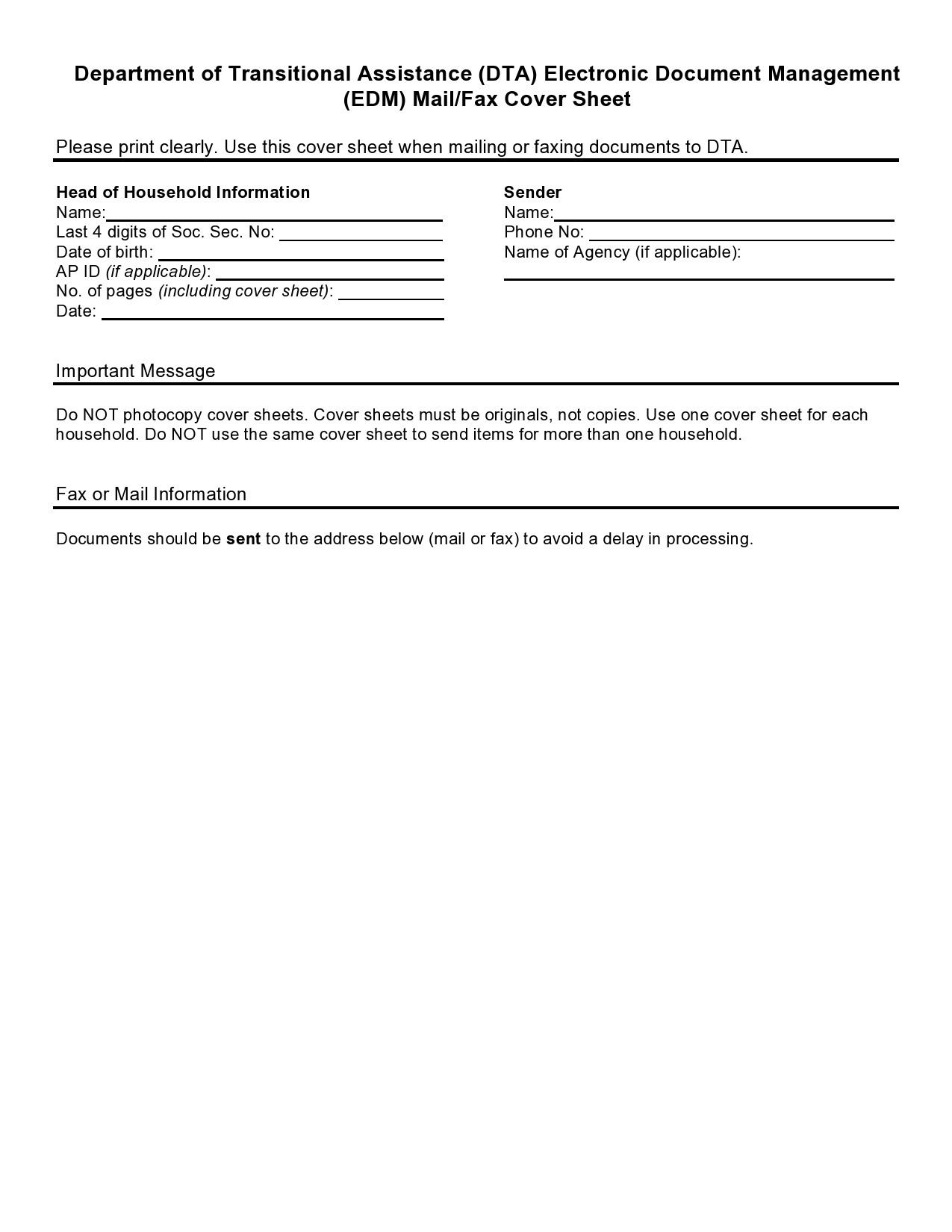 free fax cover sheet 07
