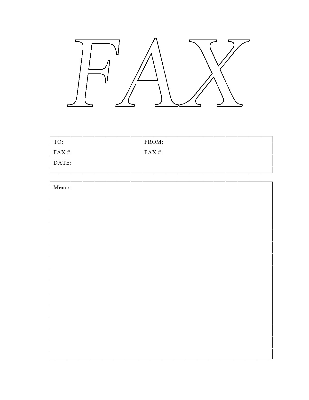 free fax cover sheet 11