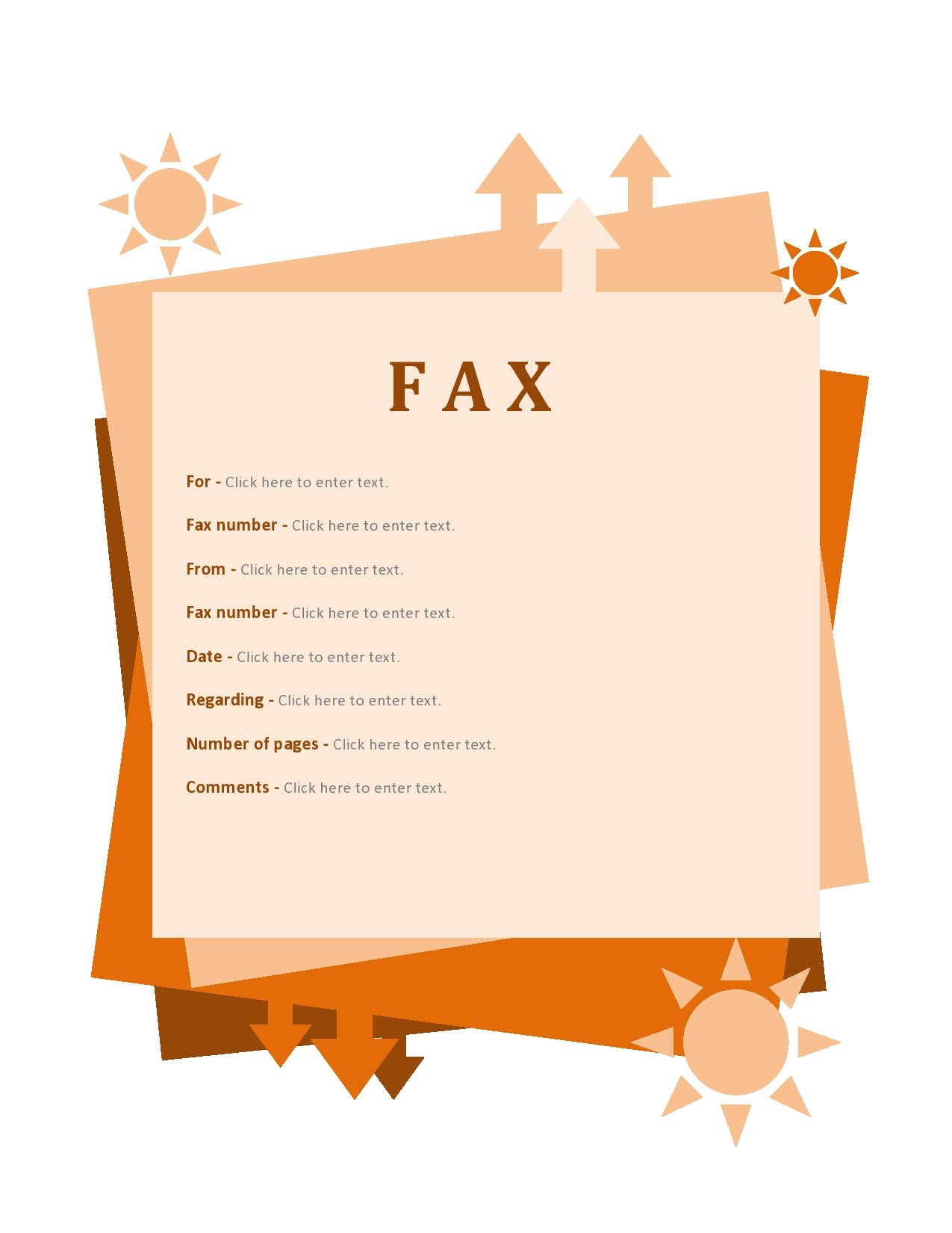 free fax cover sheet 26
