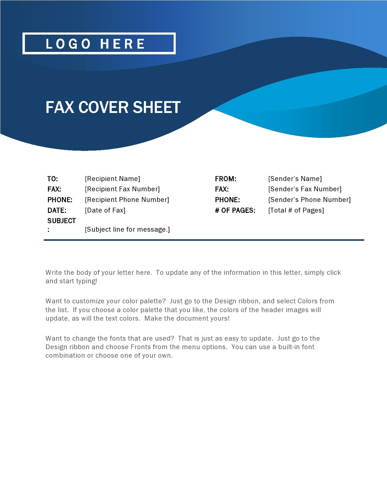 free fax cover sheet 39