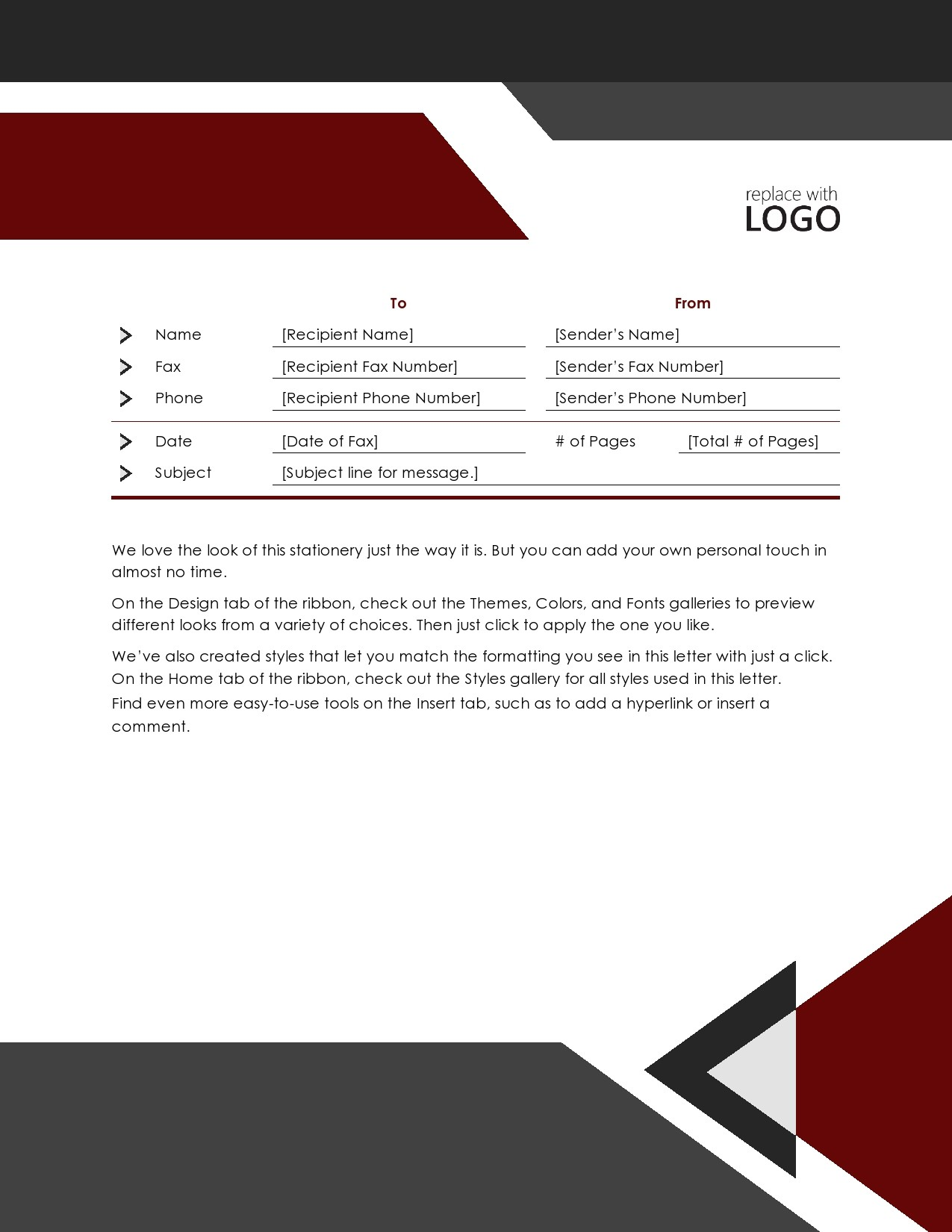 free fax cover sheet 46