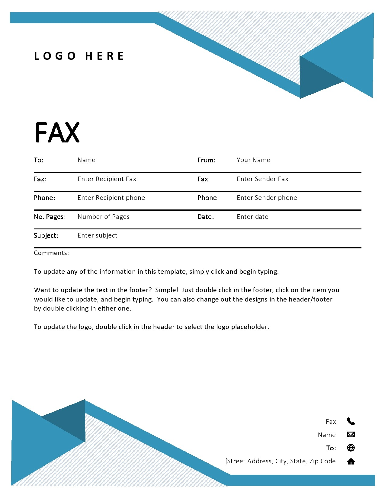 free fax cover sheet 49